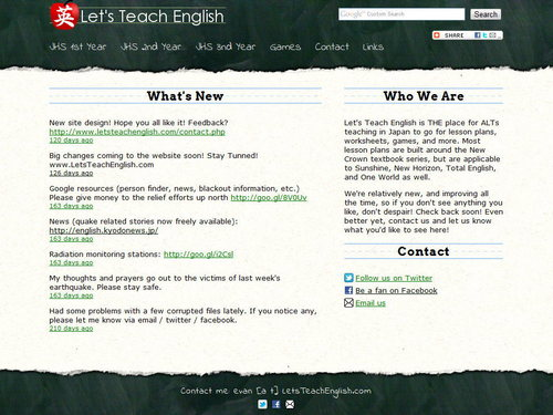 Let's Teach English